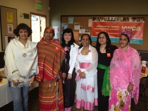 YWCA Greenbridge site took a stand against racism by celebrating the cultural diversity of their staff. Strength in our differences!