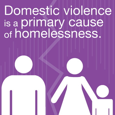 graphic domestic violence is primary cause of family homelessness