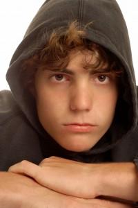 Photo boy in hoodie