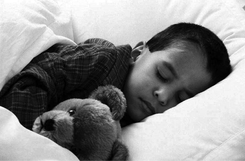 Photo boy sleeping