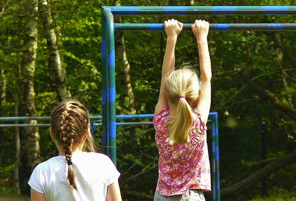 Children playing photo