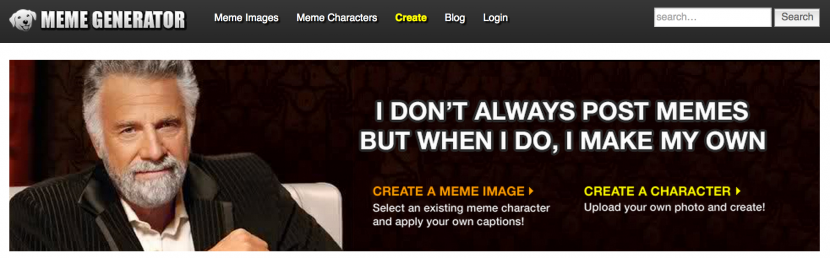 Meme Generator Screen Shot