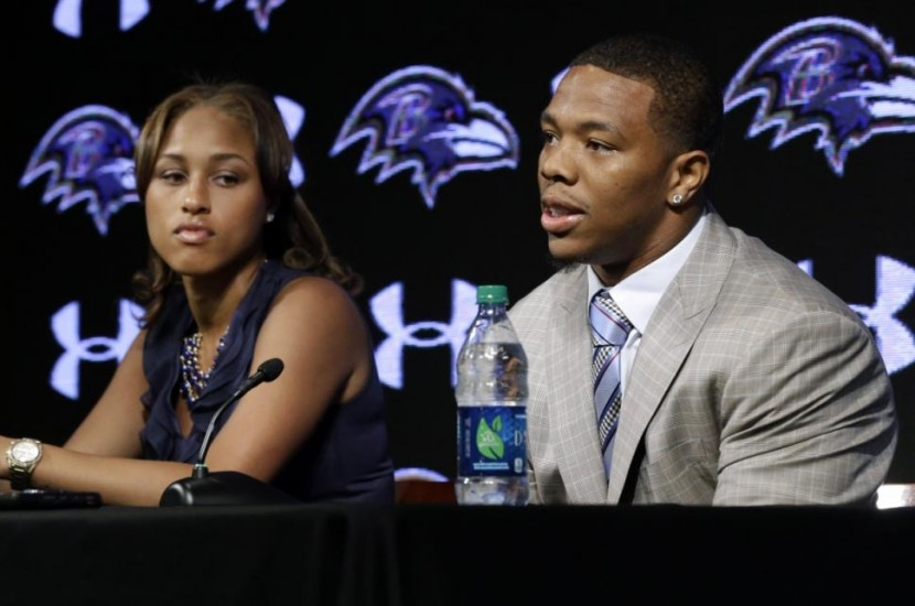 Ray Rice and his wife Janay Palmer