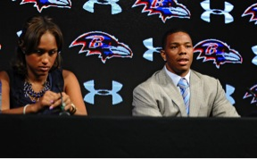 Image of Rice press conference