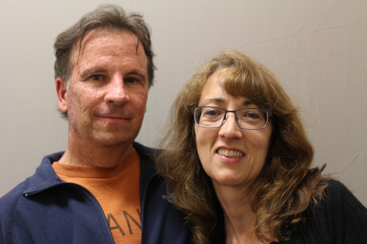 Vince Matulionis and Catherine Hinrichsen talked about ending homelessness in their StoryCorps recording. Photo courtesy of StoryCorps.