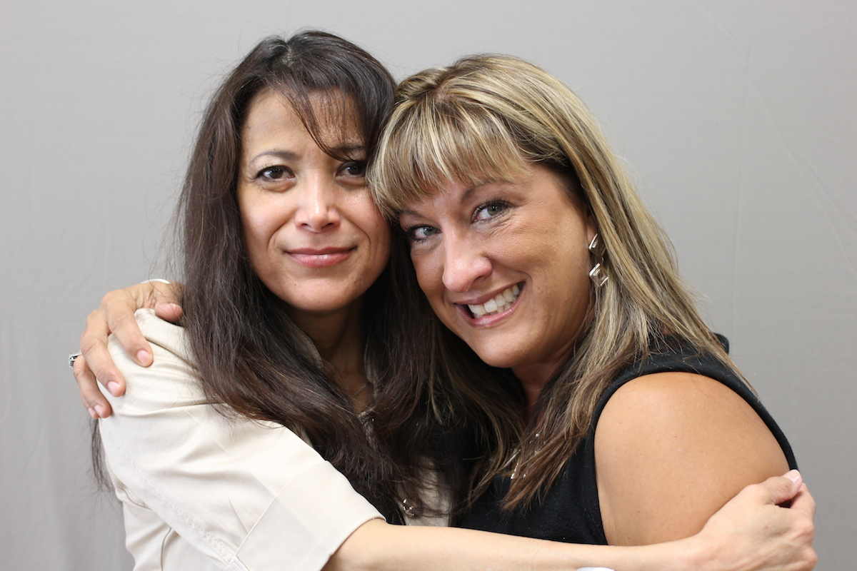 Argelia Grassfield and Gina Enochs