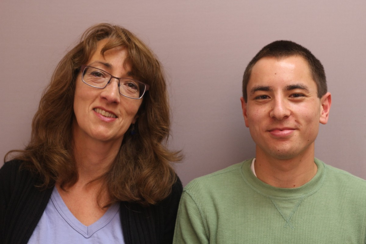 Ben Kastenbaum told Catherine Hinrichsen about his experience with homelessness as a child, and his love for adoptive parents who gave him a safe home. Photo credit: StoryCorps.