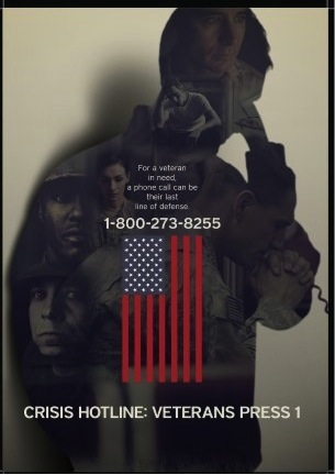 ": The text on this image says ""For a veteran in need, a phone call can be their last line of defense."" From my experiences as crisis responder for a Seattle-area crisis line, I know how true this is. And not just for veterans—for anyone in the grips of a suicidal crisis. Image from Wikipedia."