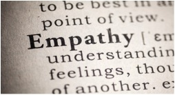 Empathy plays a huge role in helping people and society function well. Image from wheelchairjunkie.com.