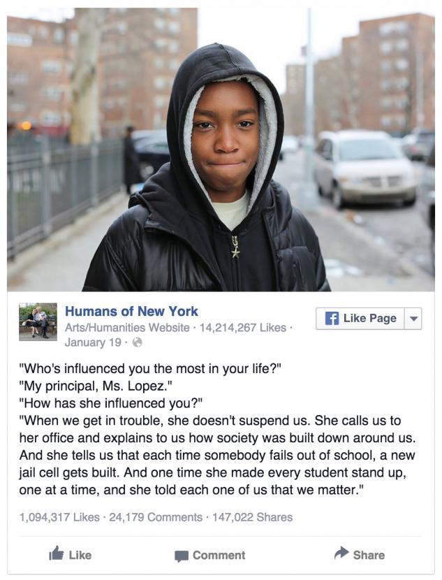 HONY facebook