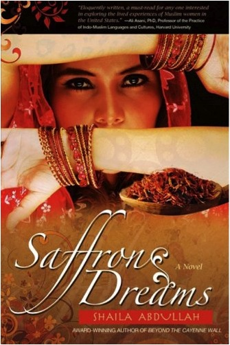 Saffron Dreams is about a Muslim woman who lost her husband to the terrorist attack on the World Trade Center on Sept. 11. Image from amazon.com.
