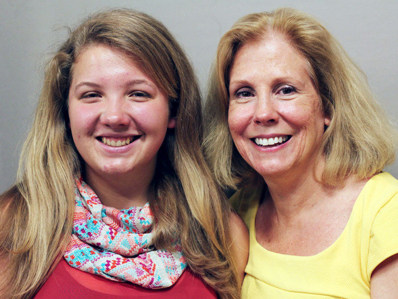 Erika and Kris Kalberer, the mother and daughter whose StoryCorps recording generated so much national interest. Image credit: StoryCorps.