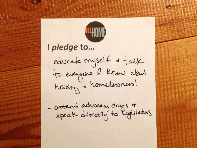 education advocacy pledge