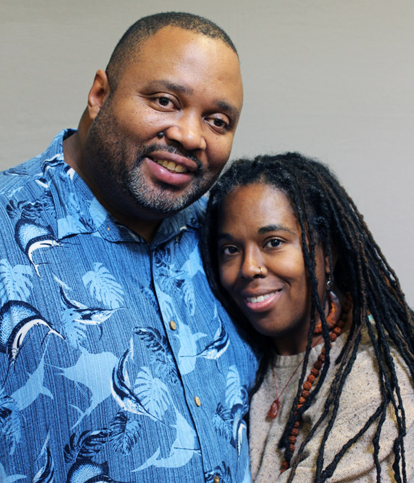 ranklin and Sherry Gilliard of Tacoma, Wash., charmed listeners all over the United States on a Thanksgiving weekend with their StoryCorps story of giving thanks despite an episode of homelessness. Photo courtesy of StoryCorps.