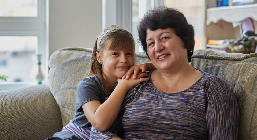 Liudmila and her children found a safe, healthy home at Family Village Redmond, a community built with support from the Housing Trust Fund. Image courtesy YWCA Seattle | King | Snohomish.